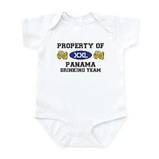Property of Panama Drinking Team Infant Bodysuit