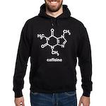 Caffeine Molecule Hoodie (dark)