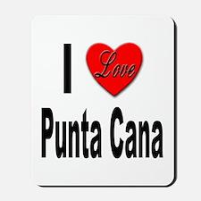 I Love Punta Cana Mousepad