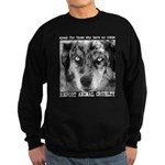 Report Animal Cruelty Dog Sweatshirt (dark)