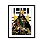 Jah Rastafari, Emperor Haile Selassie Framed Panel