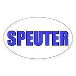 Speuter! Oval Sticker