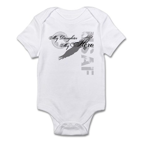My Daughter My Hero USAF Infant Bodysuit