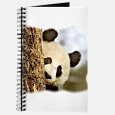 Cute Funny panda Journal