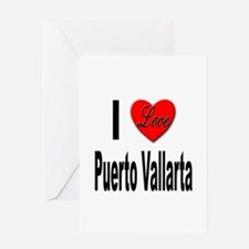 I Love Puerto Vallarta Greeting Card