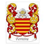 Ferreira Family Crest Small Poster