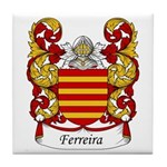 Ferreira Family Crest Tile Coaster