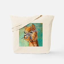 Alpaca Portrait - Tote Bag