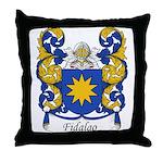 Fidalgo Family Crest Throw Pillow