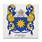 Fidalgo Family Crest Tile Coaster
