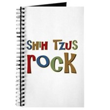 Shih Tzus Rock Dog Owner lover Journal