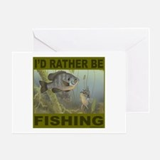 FISHING/FISHERMEN Greeting Card