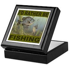 FISHING/FISHERMEN Keepsake Box