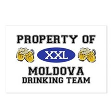 Property of Moldovan Drinking Team Postcards (Pack