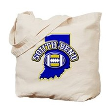 South Bend Football Tote Bag