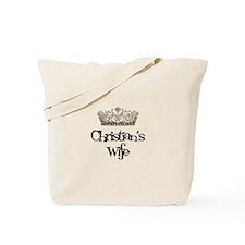 Christian's Wife Tote Bag