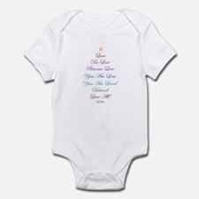 SXH Rainbow-Love All Infant Bodysuit