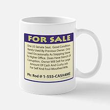 Illinois Senate Seat For Sale Mug