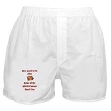 Mrs.Lovett's Pies Boxer Shorts