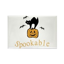 Spookable Rectangle Magnet