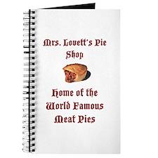 Mrs.Lovett's Pies Journal