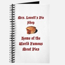 Mrs.Lovett's Pies Journal