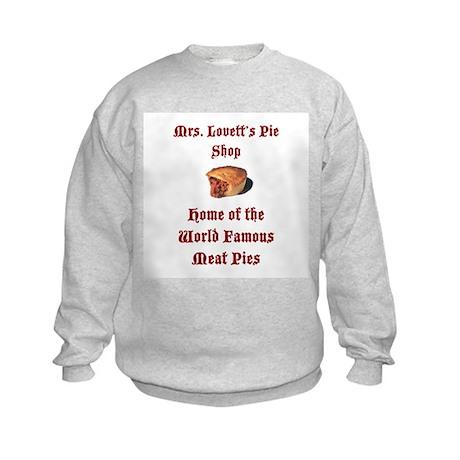 Mrs.Lovett's Pies Kids Sweatshirt