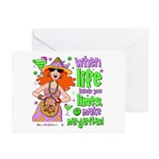 When Life Hands You Limes Greeting Cards (Pk of 20