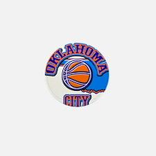Oklahoma City Basketball Mini Button