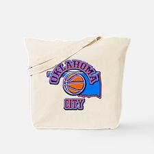Oklahoma City Basketball Tote Bag