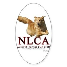 NLCA Logo-Macy Oval Decal