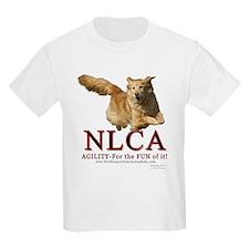 NLCA Logo-Macy Kids T-Shirt