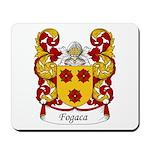 Fogaca Family Crest Mousepad