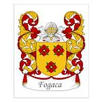 Fogaca Family Crest Small Poster