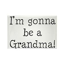 Gonna Be Grandma Rectangle Magnet