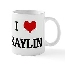 I Love KAYLIN Mug