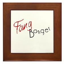 Cool Fangbanger Framed Tile