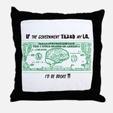 Cute Iq Throw Pillow