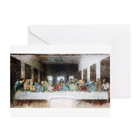 The Last Supper Greeting Cards (Pk of 20)