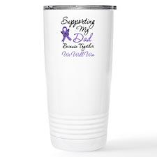 Hodgkin's Support Dad Travel Mug