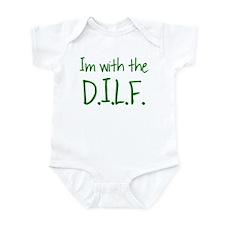 DILF - GREEN Infant Bodysuit