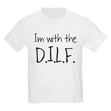 DILF - BLACK T-Shirt