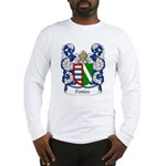 Fontes Family Crest Long Sleeve T-Shirt