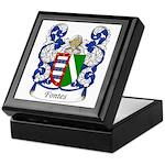 Fontes Family Crest Keepsake Box