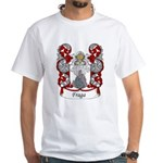 Fraga Family Crest White T-Shirt