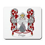 Fraga Family Crest Mousepad