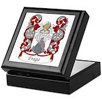 Fraga Family Crest Keepsake Box
