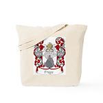Fraga Family Crest Tote Bag