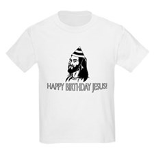 Jesus Birthday B&W T-Shirt