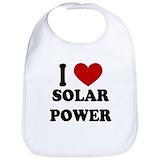 Solar power Cotton Bibs